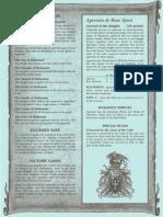 Perilous Quest, Bretonnian Battle Scrolls