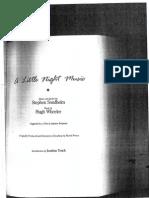 A Little Night Music Libretto