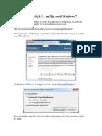 instalar postgreSQL