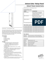 7123L1000 Echo Relay Panel Datasheet RevD