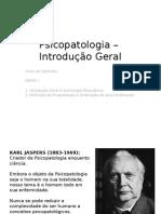 Aula 01- Introdução e ordenação dos fenomenos em psicopatologiaa