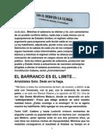 EL BARRANCO ES EL LÍMITE...
