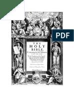 Holy Bible KJV OT NT A5P 1COL 11pt 15ls BW