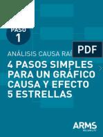 Paso 1 4 Pasos Simples Para Un Gráfico Causa y Efecto 5 Estrellas