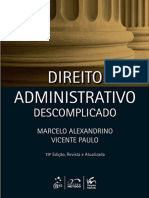 Marcelo Alexandrino - Direito Administrativo Descomplicado.epub