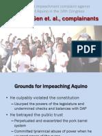 Bayan v. Aquino Impeachment Complaint