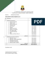 Anggaran Perbelanjaan Panitia 2015