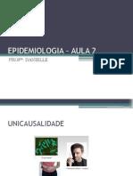 EPIDEMIOLOGIA AULA 2