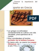 Deporte en Grecia