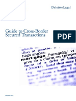 Deloitte Legal International Guide to Secured Transactions 2013