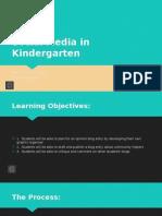 social media in kindergarten