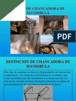 Diseño de Chancadora de Mandibula