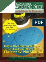Klingspor's Woodworking Shop Volume 125 Catalog