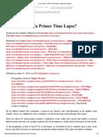 Cómo Hacer Tu Primer Time Lapse - Blog Del Fotógrafo
