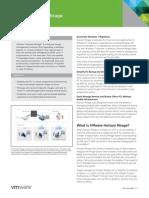 VMware Horizon Mirage Datasheet