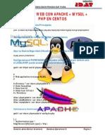 Servidor Web Con Apache Mysql Php en Centos