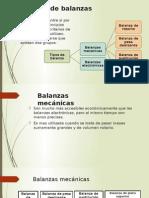 Clasificacion de Balanzas