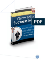 Grow Taller Success Key