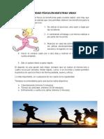 Actividad Física en Nuestras Vidas