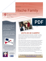 Fritsche Family Newsletter March 2015