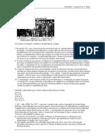 Exercícios de Primeira Guerra mundial e Revolução Russa