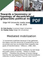 EHU Grassroots Movements