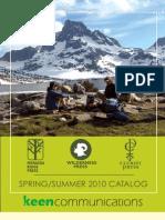 Spring 2010 Catalog - Hiking, Biking, Adventure