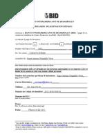 Aceptaciu00F3n de Pago (BID)