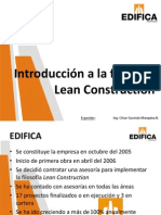 Introducción a Lean Construction UNI