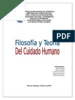 Filosofía y Teoría Del Cuidado Humano (Unefm)