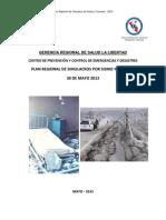 Plan Regional de Simulacros Por Sismo y Tsunami