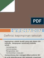 Kepimpinan Sekolah -Jenis Kepimpinan Guru Dalam Pendidikan - PPG 2014 2