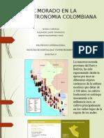 Maiz Morado en La Gastronomia Colombiana