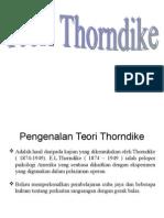 Thorndikepelaziman operan