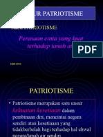 Unsur Patriotisme