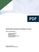 100117 Administratieve processen stroomlijnen in de zorg