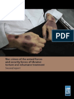 Second Report - War Crimes of the Armed Forces and SecurityForces of Ukraine
