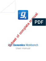 CLC Genomics Workbench User Manual Subset