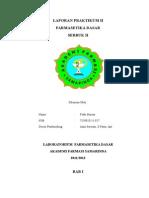 Laporan II Praktikum Farmasetika (Perbaikan)