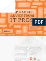 Top career advice from IT pros