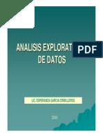 Analisis exploratorio