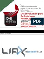 Minicurso PhoneGap Parte 3
