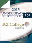 2015 UG Course Descriptions