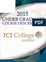 2015 UG Course Descriptions