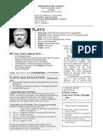 Handout PLATO