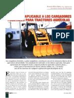 NORMATIVA APLICABLE A LOS CARGADORES FRONTALES PARA TRACTORES AGRÍCOLAS