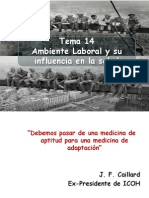 14 ambiente laboral USMP MEDICINA