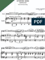 Arr-Borch-Schumann - Evening Song - Cello Piano