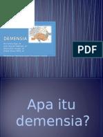Demensia Kader