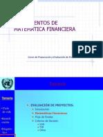 Fundamentos Matematica Financiera